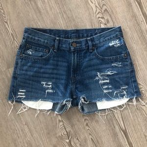 LEVI'S Cut Off Jean Shorts, 30